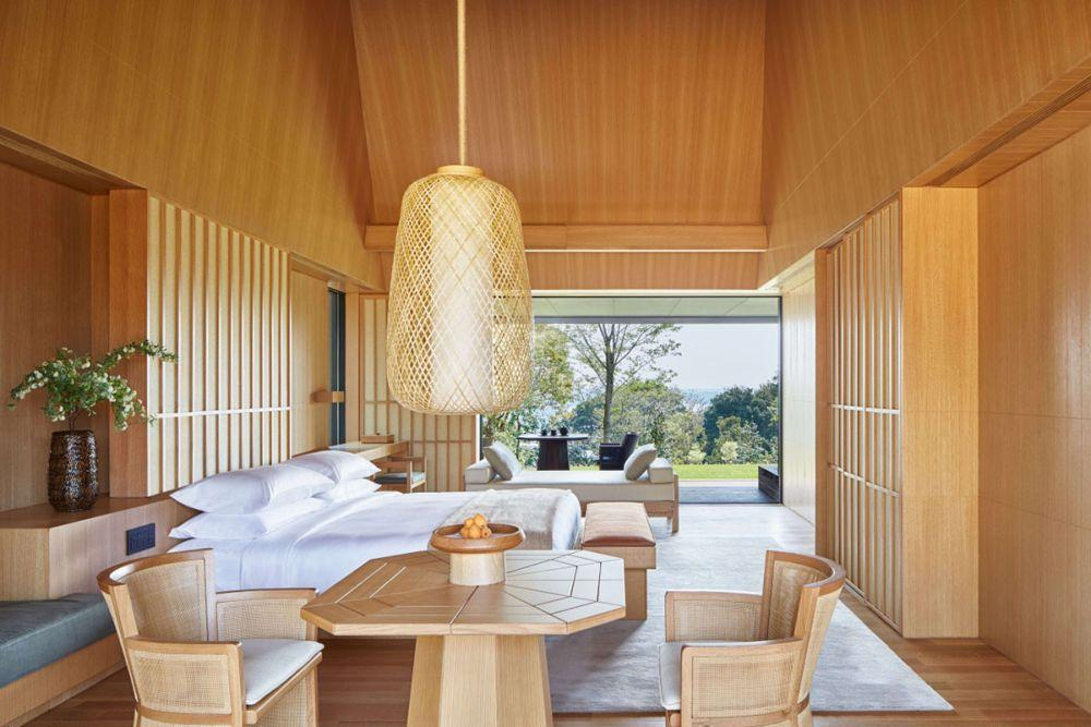 Japan Luxusreise, Amanemu, Suite